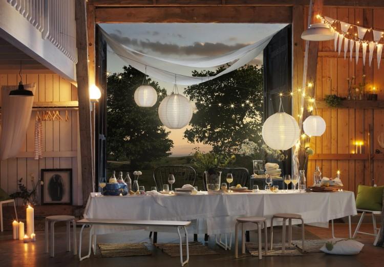 IKEA feestelijke tafel