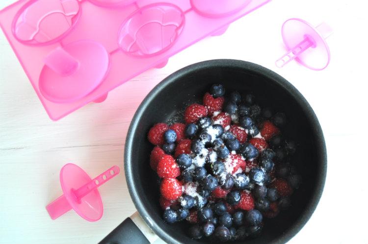 fruit koken met suiker 750