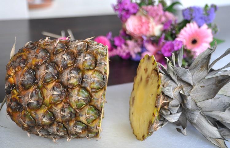 ananas uithollen