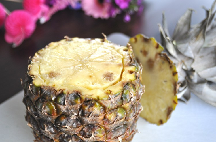 ananas uithollen pineapple vase