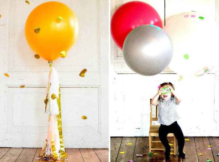 collage grote ballonnen