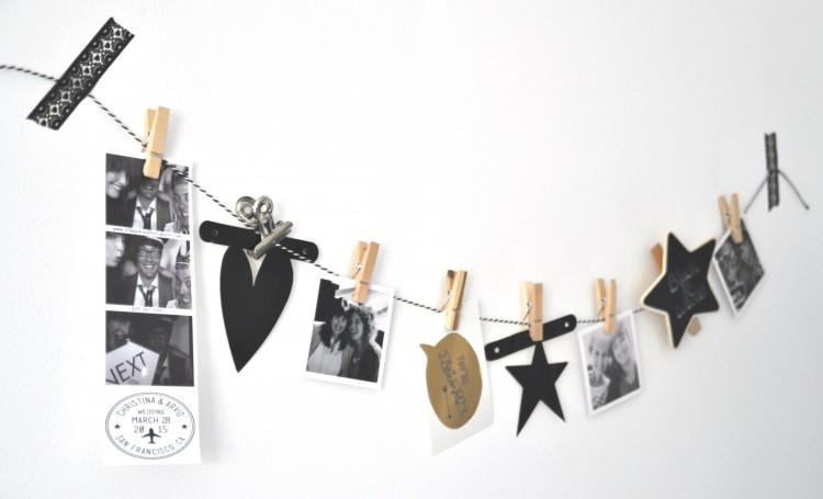 Wonderbaar Feestje in zwart & wit: ideeën & decoratie-inspiratie! YW-51