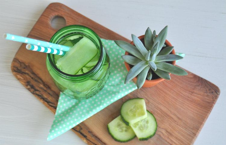 smaakje water komkommer healthy
