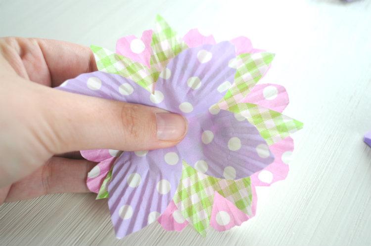 bloemetje maken papier