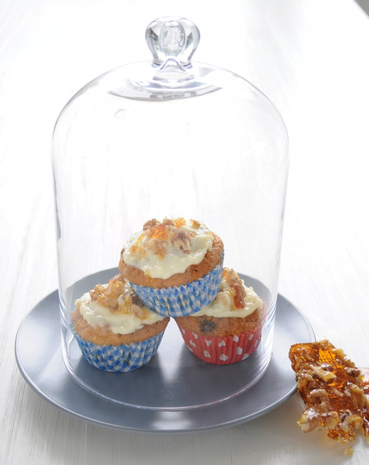 cupcakes onder de stolp carrot