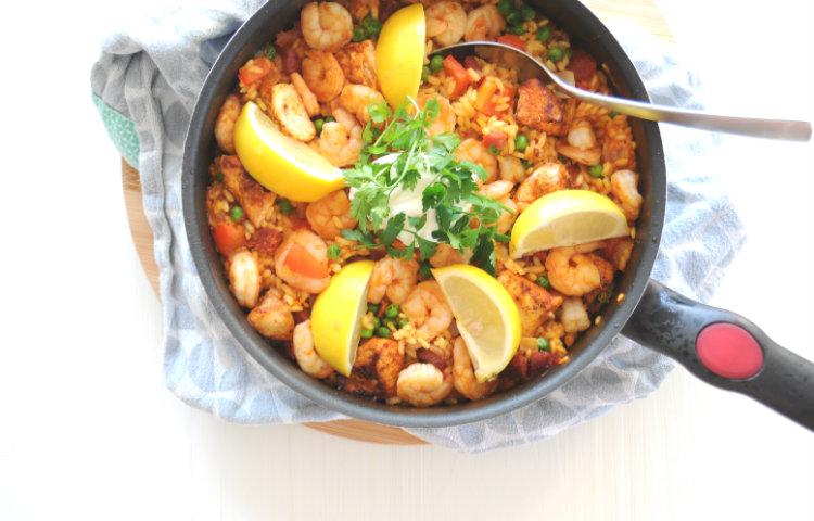 paella voor twee personen recept
