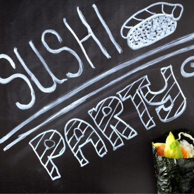 Let's have a Sushi Party!