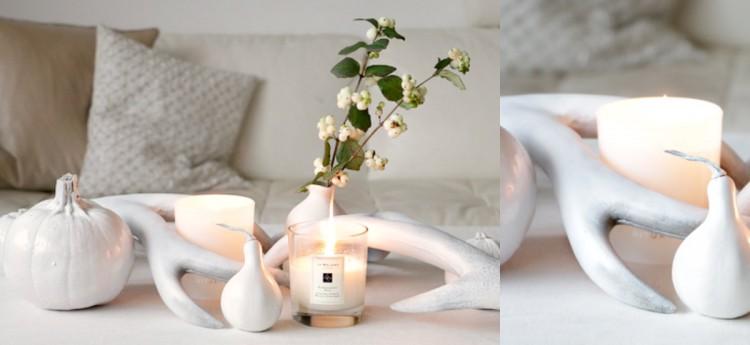 collage witte pompoenen herfst