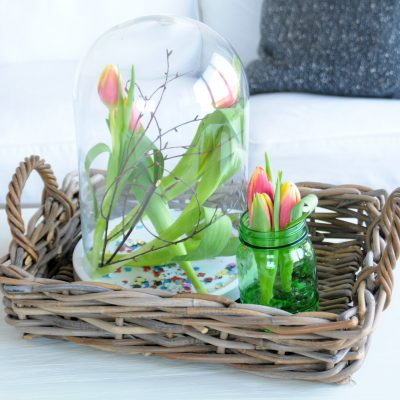 Carnavalssfeer met tulpen