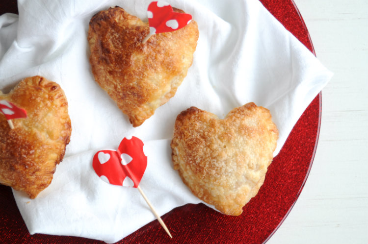 mini-appelflappen hartjes valentijnsdag