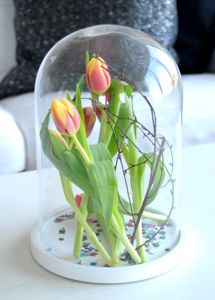 rood geel groene tulpen carnaval