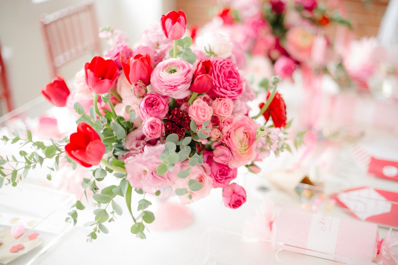 Romantisch diner met valentijn 10x decoratie voor de tafel - Decoratie tafel basse ...