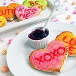 Recepten voor het Valentijnsontbijt