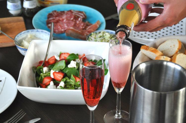 wijn met eten combineren