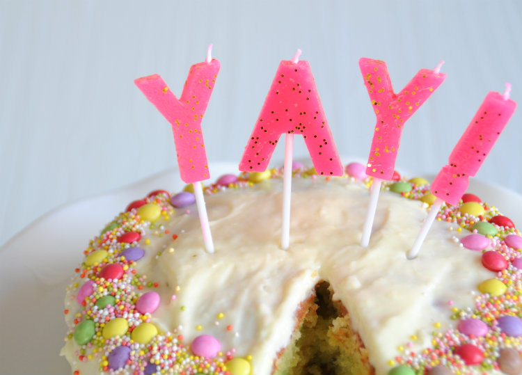 citroen confetti cake