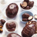 Gezonde chocoladepaaseitjes met quinoa