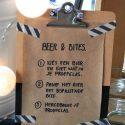 Beer & Bites: bierproeverij organiseren