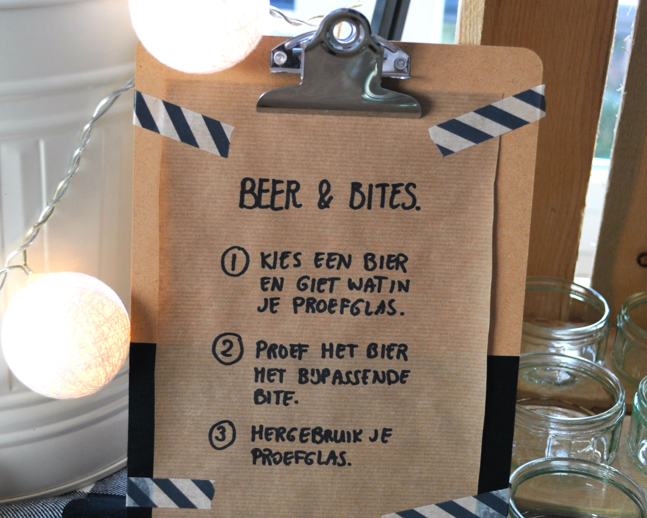 bierproeverij organiseren tips