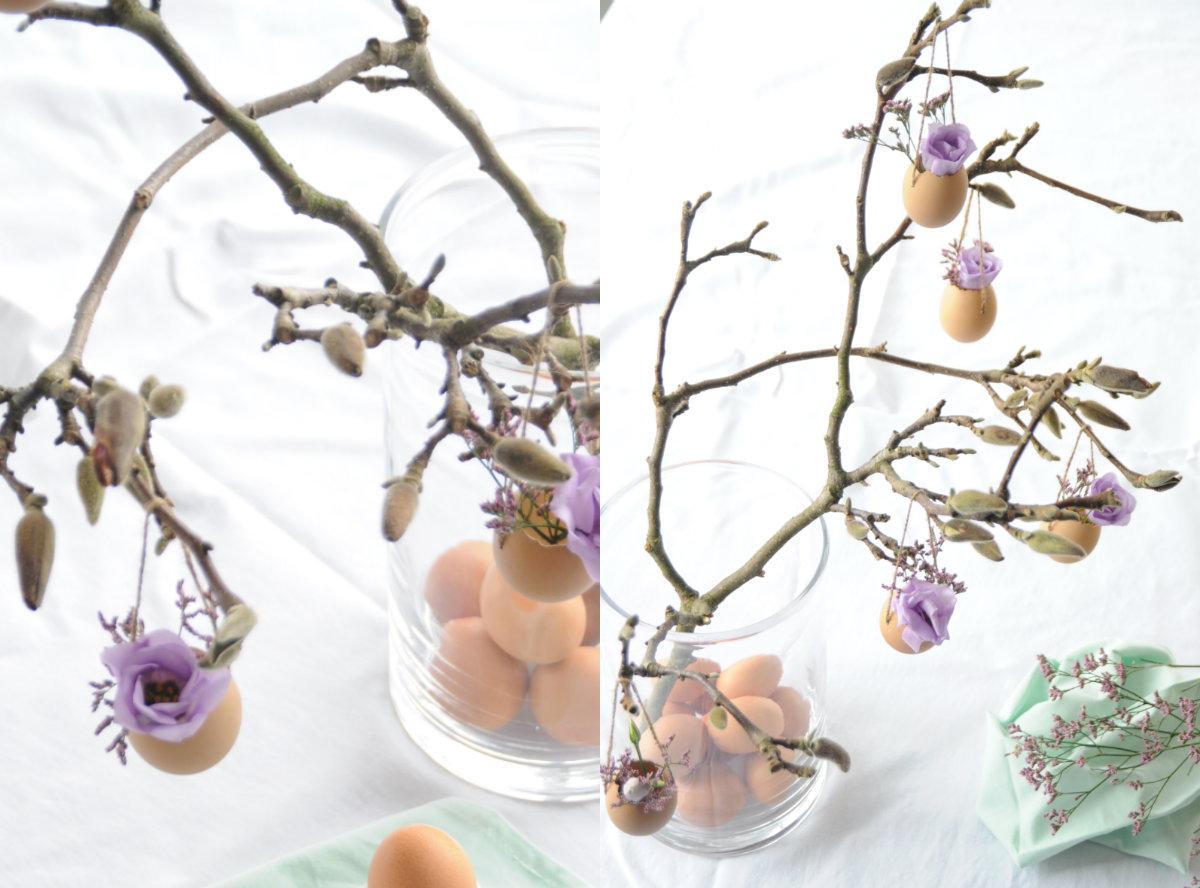 collage magnoliatak paastak pasen versieren