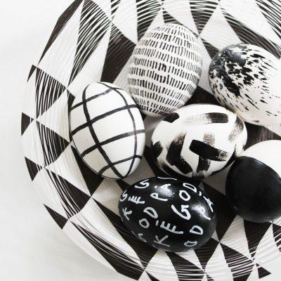 Pasen in zwart & wit