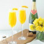 Heerlijke voorjaarscocktail: mimosa's met mango