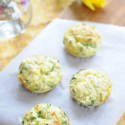 Hartige Paasmuffins met courgette