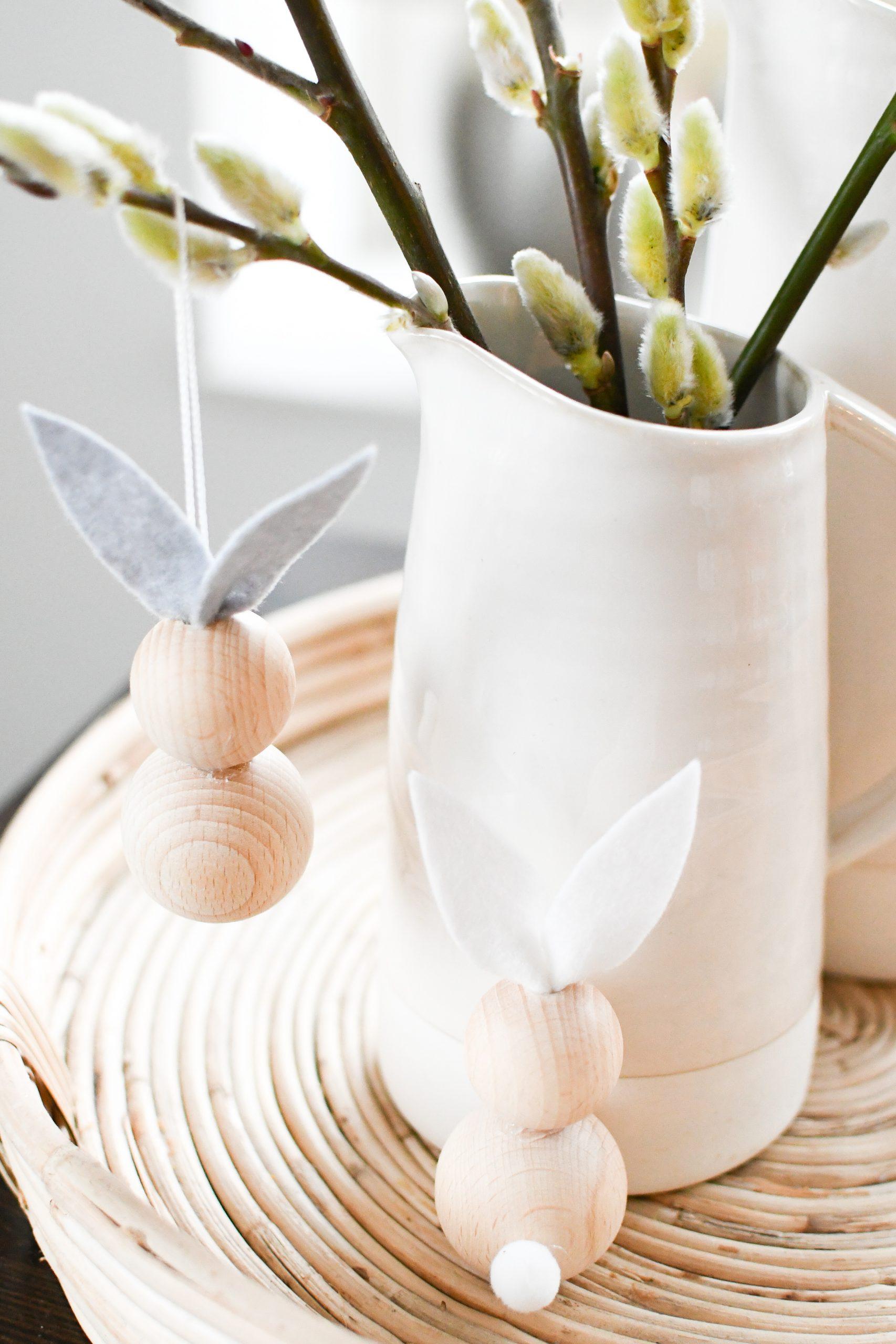 paastakken ornamenten konijntjes zelf maken