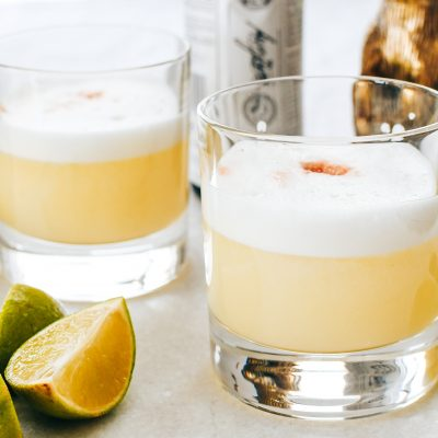 Pisco Sour (mijn favo cocktail)