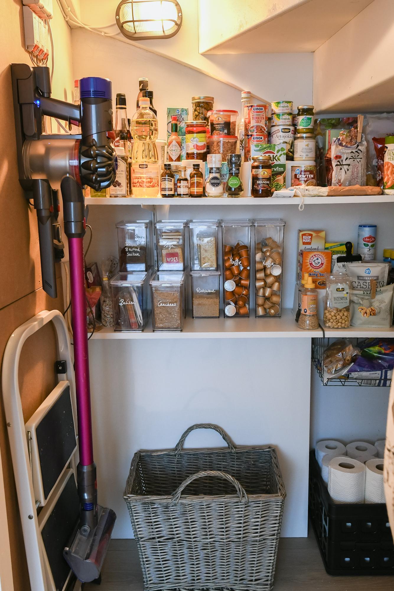 Voorraadkast organiseren en opruimen tips