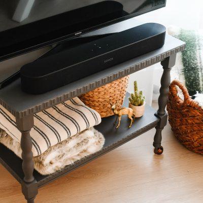 TV-meubel opknappen met krijtverf (zonder schuren)