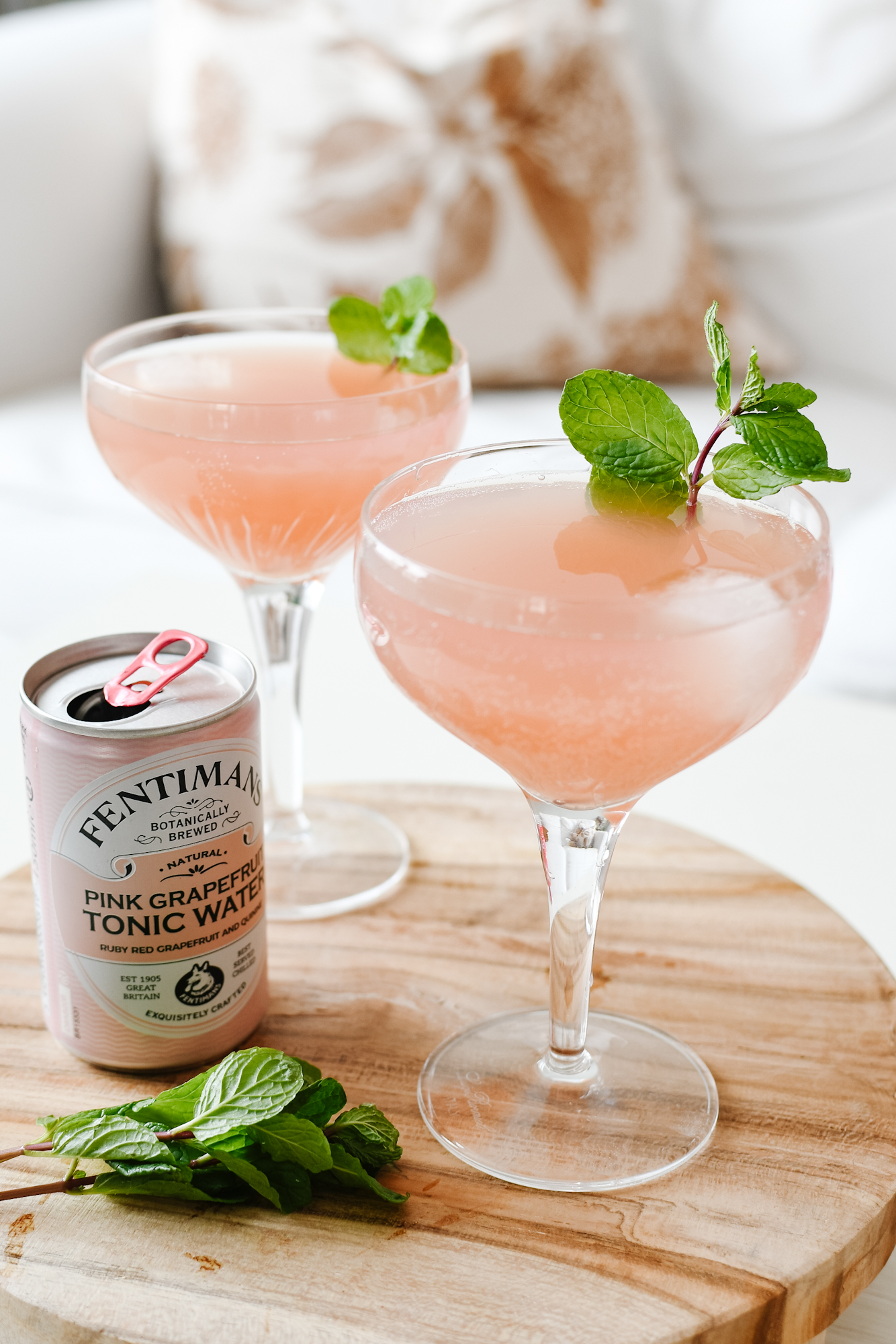 roze cocktail gin & tonic