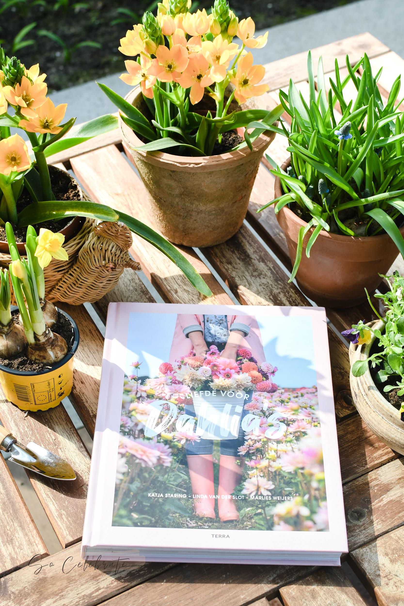 boeken over tuinieren en bloemen kweken 2021