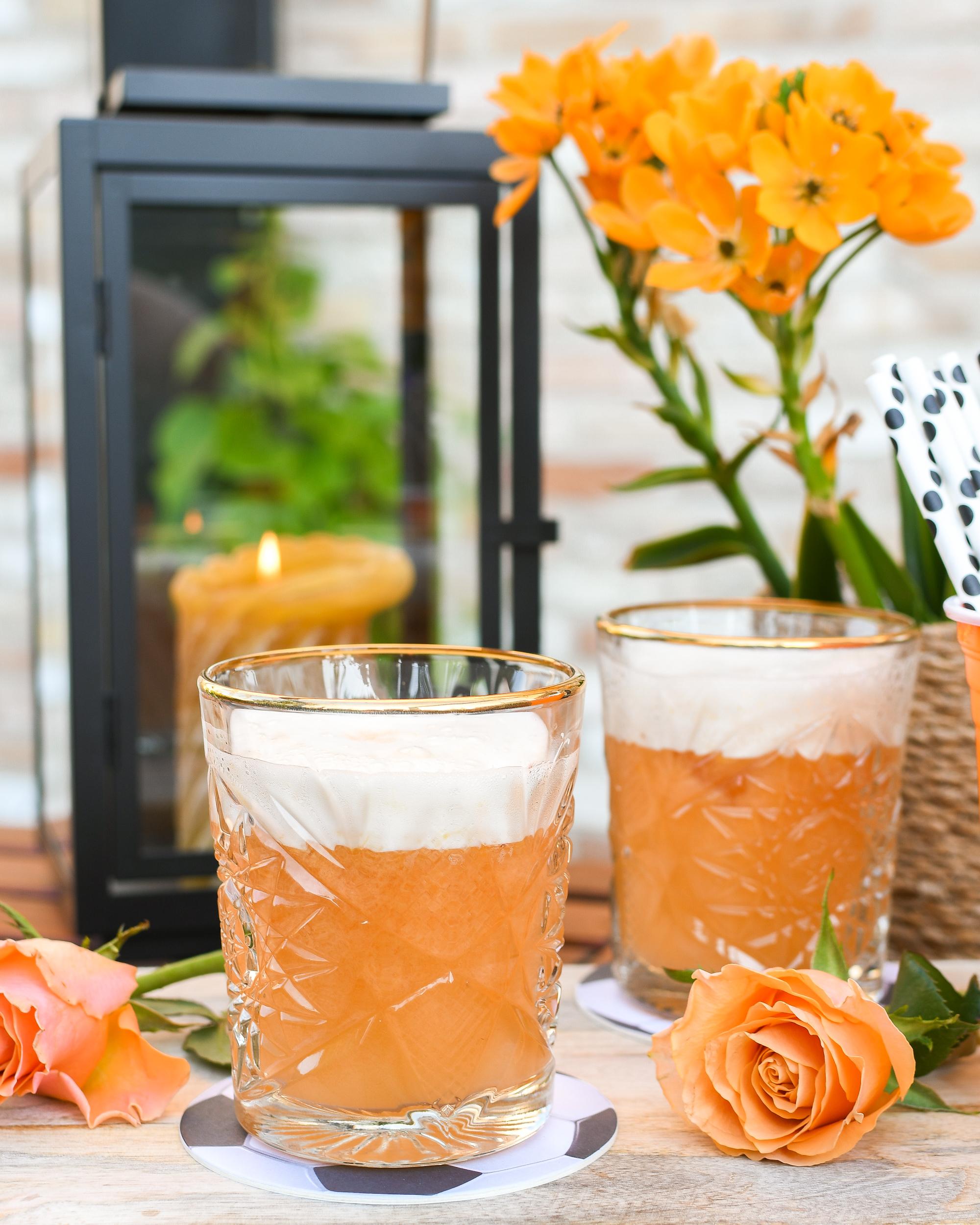 Oranje cocktail EK Voetbal