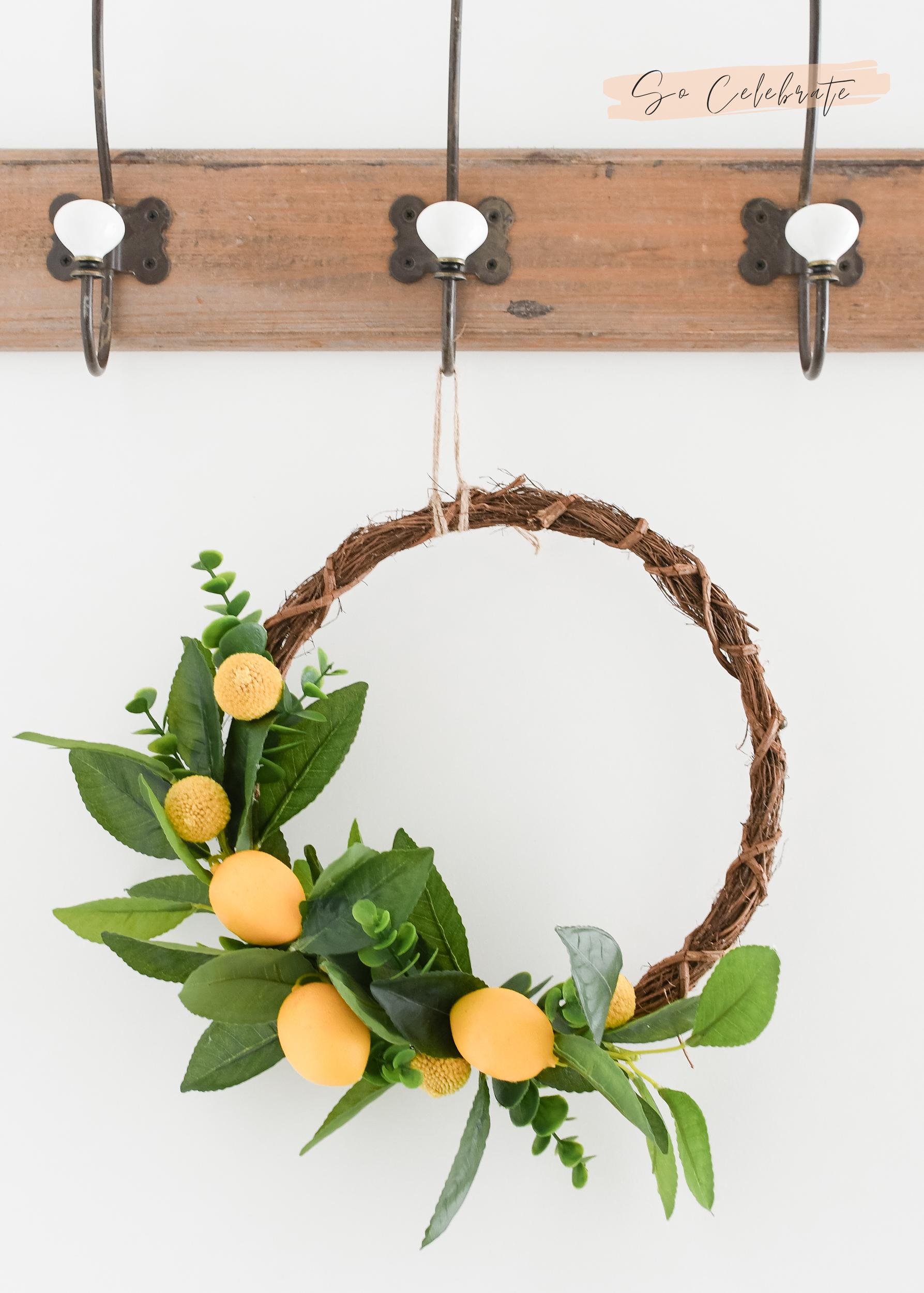 decoreren met citroenen
