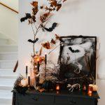 Halloween versiering: spooky decoratie op mijn kastje